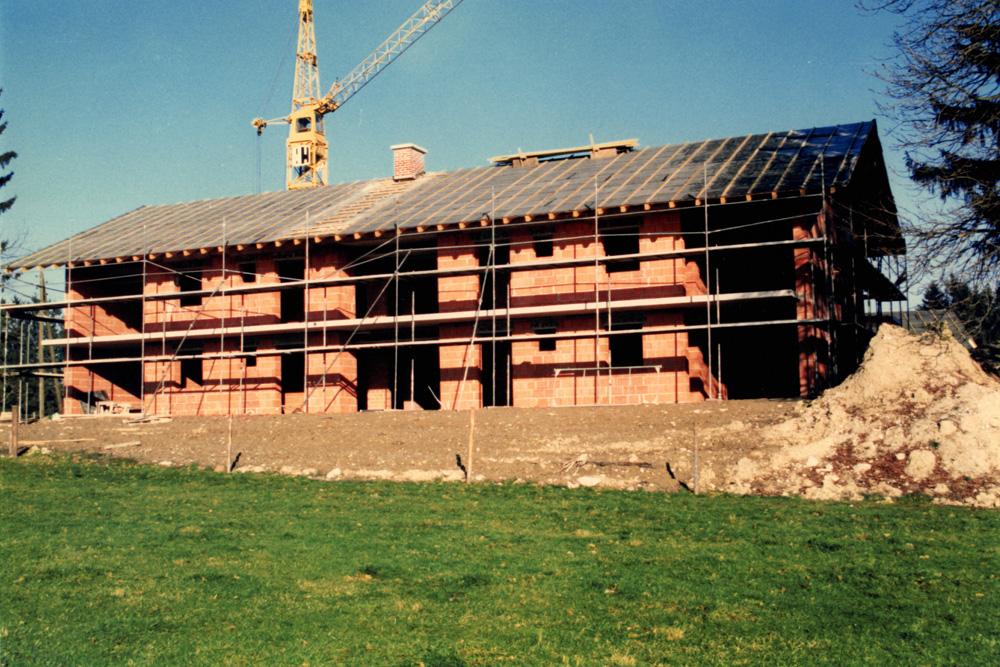 Bau des Wohnheims Hof Hohenwart